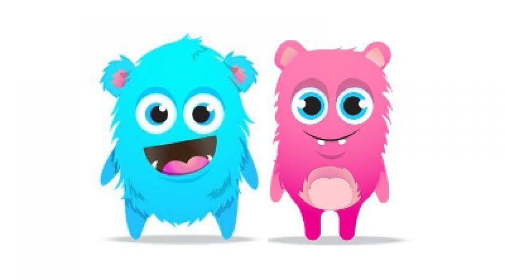 Kleuter: Kleurrijke monstertjes