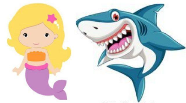 Kleuter: Zeemeerminnen & Haaien